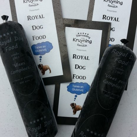 Vlees en folder Royal Dog Food
