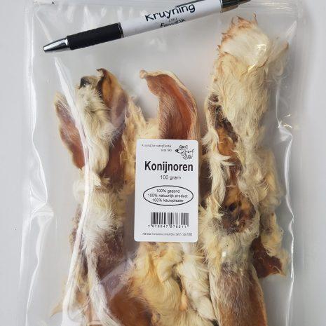 konijnoor met vacht, 100 gram