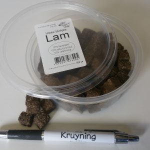 Vleesblokjes Lam 350 cc