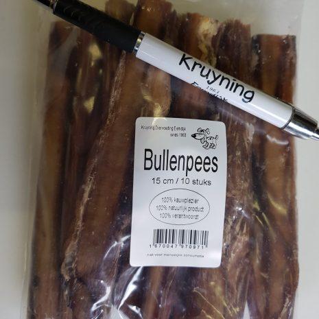 Bullenpees verpakt