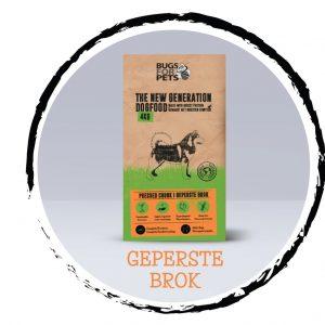 Bugs for pets, Geperste brok