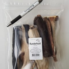 Runderhuid met vacht 300 gram