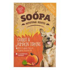 Soopa, Wortel & Pompoen topping