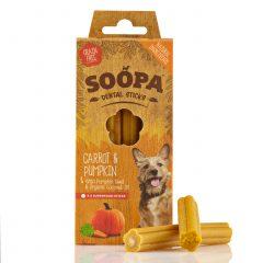 Soopa, Dental stick Pompoen & Wortel