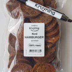Hamburgertjes Rund 250 gram