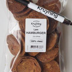 Hamburgertjes Lam 250 gram