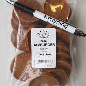 Hamburgertjes Zalm 250 gram