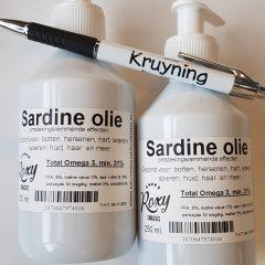 Sardine Oil 250 ml.
