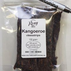 Vleesstrips Kangoeroe 100 gram