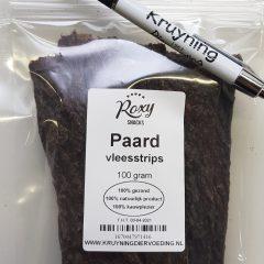Vleesstrips Paard 100 gram