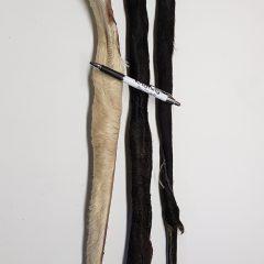 Runderhuid met vacht 75 cm
