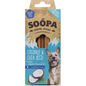 Soopa, Dental stick Coconut & Chia Seeds
