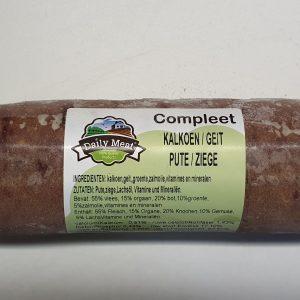 Daily Meat Compleet Kalkoen / Geit