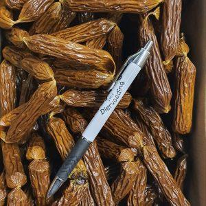 Salami worstjes rund 200 stuks
