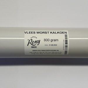 Roxy Vlees Worst Kalkoen 800 gram