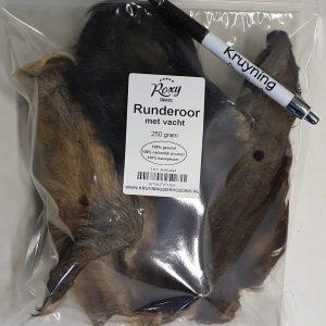 Runderoren met vacht 250 gram