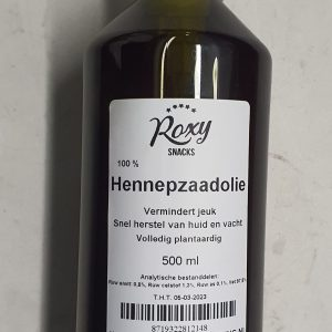 Hennepzaadolie 500 ml
