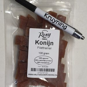 Filettrainers Konijn 100 gram