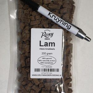 Vlees knabbels Lam 200 gram